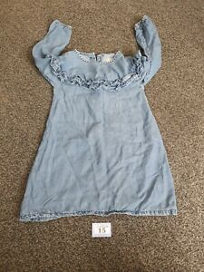 Girls Age 3-4 Years Long Sleeve Next Dress (B15)