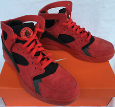 Nike Air Flight Huarache PRM QS 705005-600 University Basketball Shoes Men's 10
