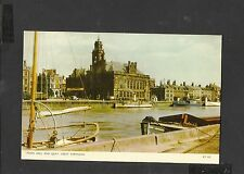 Vintage Jarrolds Postcard Town Hall and Quay Great Yarmouth Norfolk unposted