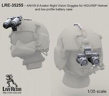 Live Resin 35255 1/35 ANVIS-9 Aviator Night Vision Goggles for HGU/56P Helmet