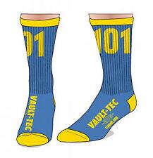 Fallout Vault Boy 101 Standard Issue Bethesda Crew Socks Mens Cosplay Costume F1