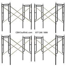 "4 Set of New 3' X 6'7"" X 10' Plastering Masonry Scaffold Frame Set Cbm Scaffold"