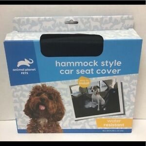 Animal Planet Pets Car Seat Cover