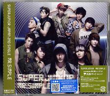 SUPER JUNIOR-MR.SIMPLE-JAPAN CD B63