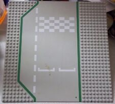 Lego Race Start Finish Line 32x32 Lego Figure Plate Used