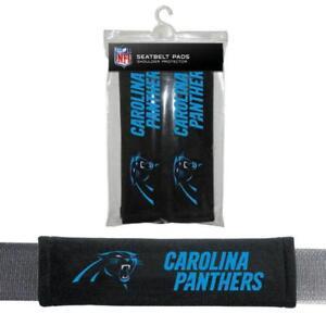 Carolina Panther Seat Belt Pads