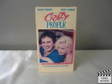 Crazy People (VHS, 1990) Dudley Moore Daryl Hannah