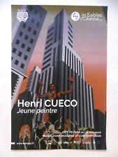 CUECO Henri Affiche originale 2020 Ville Building La Meute Uzerche Corrèze