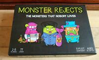 Monster Rejects Card Game. Kickstarter Explicit Gross Fun Party. Sealed Cards.