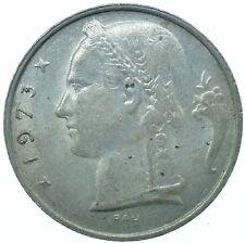 COIN / BELGIUM / 5 FRANCS 1973 BEAUTIFUL COLLECTIBLE COIN #WT31551
