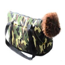 New Pet Bag Dog Cat Puppy Carrier Camo Travel Tote Portable Case Shoulder Bag