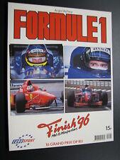 Book Formule 1 Finish 1996 door Anjes Verhey (Nederlands)