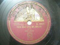 """DANNY MALONE B 4420 INDIA INDIAN RARE 78 RPM RECORD 10"""" PLUM VG+"""
