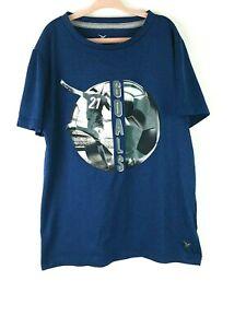 OLD NAVY Active Boys Short Sleeve T-shirt Size 8 Medium Soccer