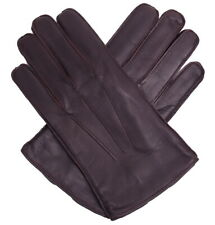 NEW Dents Mens Hastings Leather Gloves Brown Size L RRP £42