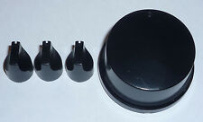 VOLUME BASS BALANCE ETC KNOBS SET FROM A SONY STR-D611 AMPLIFIER AMP