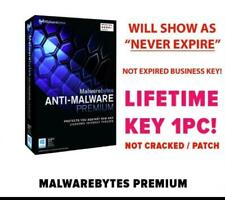 Malwarebytes Premium Antimalware 2020 - 1 PC LIFETIME