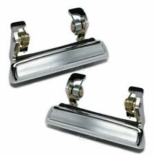 FORD TRUCK & CARS Outside Outer EXTERIOR DOOR HANDLES LEFT & RIGHT Chrome PAIR