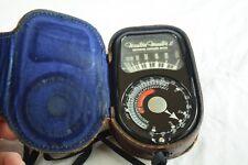 Vintage Original Weston electric Exposure Meter Model 735 Camera Parts