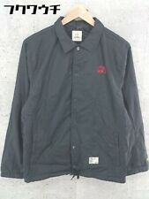 STUSSY x BEDWIN THE HEARTBREAKERS Collaboration Long Sleeve Coach Jacket Black
