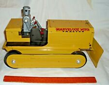 MARVELOUS MIKE ROBOT TRACTOR BATTERY TOY 1950s BY SAUNDERS