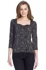 Neu 🖤Vive Maria🖤 Black Pin Up Shirt Gr. S 34/36