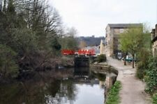 PHOTO  CANAL 2007 SHOP LOCK NO 18 ROCHDALE CANAL TODMORDEN YORKSHIRE THE RESTORE