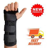 Wrist Brace Support Hand Left Right Warp Night Sleep Carpal Tunnel Adjustable US