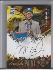 2014-15 COURT KINGS #FP-KM K.J. McDANIELS AUTOGRAPH ROOKIE RC 76ERS 226/260 2226