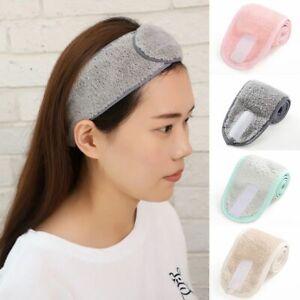 Adjustable Makeup Hair Bands Wash Face Hair Holder Soft Towel Headbands Hairband