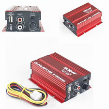 500W Mini Hi-Fi 2CH Channel Stereo Audio Amplifier Amp Subwoofer Auto Motorcycle