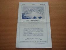 *** La Nature n° 1833 (11/07/1908) - Haut-Tonkin / Restauration Parchemins feu
