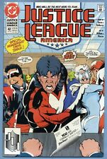 Justice League America #42 1990 Mike McKone DC Comics