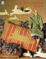 """1996 Pattern Booklet Sweet Seasons Book II Patrice Longmire 20"""" Rabbit Doll #52"""