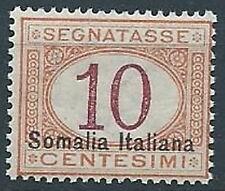 1920 SOMALIA SEGNATASSE 10 CENT MNH ** - ED217-3