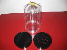 Magic Bullet 1 Tall Cup & 2 Shaker / Steamer Lids! Brand New! No Wait!!!