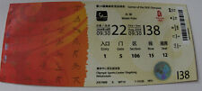OLD TICKET Olympic Games 2008 Beijing Water polo Australia Italy China Canada