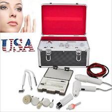 USA 5 in 1 High Frequency Galvanic Vacuum Spray Facial Spa Salon Beauty Machine