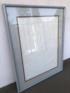"VTG 1982 SIGNED Irina Lorin ""Tide Waters"" Limited Edition Media Art Framed 20/75"
