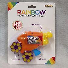 Rainbow Pecker Confetti Gun Adult Pride Party Bar Gag Gift Prize Hot Sexy Fun