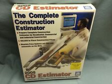 CD Estimator 2005 3000 Pages Of Labor & Material Costs For Construction Sealed