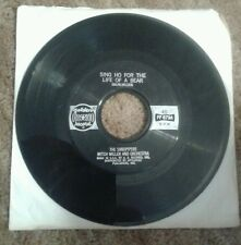THE SANDPIPERS-MITCH MILLER-SING HO FOR THE LIFE OF A BEAR/COTTLESTON PIE   45