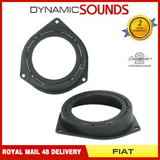 CT25FT08 100mm-120mm Rear Speaker Adaptor Pods For FIAT Grande Punto 2005>