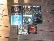 8 X VICTORY RECORDS CD ALBUMS . thrash rock metal sxe hxc punk mosh nyhc