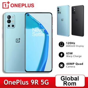 Global Rom 6.55'' OnePlus 9R 5G Phone 128GB / 256GB Snapdragon 870 48MP 4500mAh