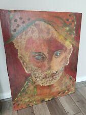 John V. Moraitis Original Signed Painting on canvas Listed Greek American 30x24