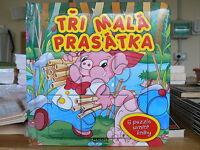 Rusconi Libro Puzzle I Tre Porcellini in lingua Ceca Tři malá prasátka