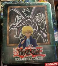 Yugioh 2002 Red Eyes Black Dragon Factory Tin RARE Near MINT Cond