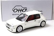 1:18 Otto peugeot 205 Dimma White New en Premium-modelcars