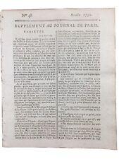 Régiment de Chateauvieux 1792 Gardes Suisses Révolution Française Pétion